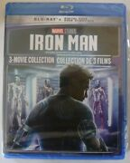 Marvel Iron Man 3 Movioe Collection Blu-ray, Brand New And Sealed