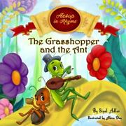 The Grasshopper And The Ant Aesop's Fables In Verses, Brand New, Free Shippi...