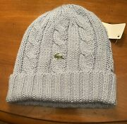 Nwt Lacoste Men And Women Beanie Hat. 100 Authentic