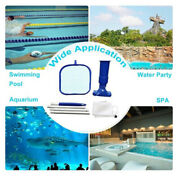 Swimming Pool Vacuum Cleaner Electrical Hot Tub Cleaning Robot Cleaning Toolzcwr