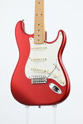 Fender/eric Johnson Stratocaster Maple Fingerboard Candy Apple Red