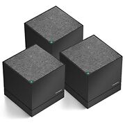 Tri-band Mesh Wifi System Up To 6000 Sq. Ft Whole-home Coverage Router And Exte...