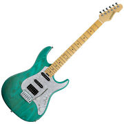 Edwards E-snapper-as/m Turquoise Electric Guitar