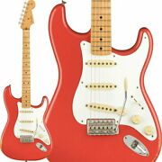 Fender Electric Guitar Vintera Road Worn 50s Stratocaster Fiesta Red Made In