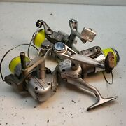 🔥vintage Mitchell Spidercast Sc500 Spinning Reel Lot Of 3 Used Please Read🔥