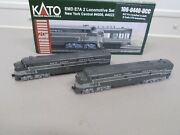Kato New York Central E7a-a Locomotive 4008 And 4022 Set With Dcc N-scale