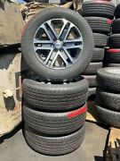Set Of 4 Used Ford Factory Oem Ford F150 20 Alloy Wheels And Tires