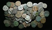 Byzantine. Lot Of 103 Assorted Bronze Coins Mostly Follis And Half Follis