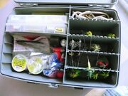 Plano Guide Series Stuffed With Tackle Fishing Tackle Box Lures And Lots More
