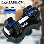 Adjustable Dumbbell 25lbs Fast Adjustment Function With Weight Plate1 Pcs