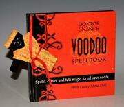 Voodoo Spellbook Spells Curses And Folk Magic For All Needs With Lucky Mojo Doll