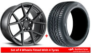 Alloy Wheels And Tyres 19 Rotiform Kps For Mitsubishi Outlander [mk2] 06-12