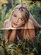 Giant Magazine Poster Britney Spears And Angelina Jolie As Lara Croft Oop Hot