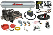 480 Black Air Ride Suspension Kit Complete Wireless Management Control 3 Presets