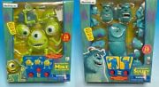 Out Of Print Monsters Inc. Microphone Sari Talking Model Kit Ends As Long One