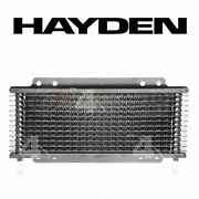 Hayden Automatic Transmission Oil Cooler For 1981-1989 Plymouth Reliant - Os