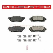 Powerstop Rear Disc Brake Pad And Hardware Kit For 2015-2017 Lexus Nx200t - At