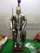 Medieval Wearable Templar Knight Armor Suit Rust Free Stainless Steel Fully