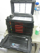 Pelican 0450 Tool Case/armstrong General Mechanics Military W/trays   1