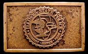Mg24137 Vintage 1970s Wyoming Studio Illinois State Police Assn. Buckle