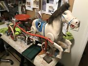 Rare Find Vintage Tri-ang Tricycle Pedal Car Horse Toy Made In England