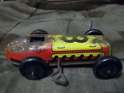 Lupor Marx Metal Product Tin Car 8 Wind Up Car For Parts