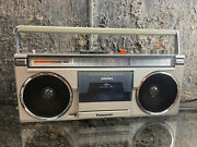National Panasonic Rx-5180 Cassette Radio Boom Box Excellent Working Condition
