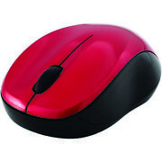 Verbatim 99780 Red Silent Wireless Blue Led Mouse For Mac/windows