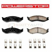 Powerstop Front Disc Brake Pad And Hardware Kit For 1993 Jeep Grand Wagoneer - At