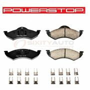 Powerstop Front Disc Brake Pad And Hardware Kit For 2000-2002 Dodge Durango - At