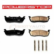 Powerstop Rear Disc Brake Pad And Hardware Kit For 2003-2011 Lincoln Town Car Rp