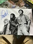 Planet Of The Apes Signed Autograph Photo Lot