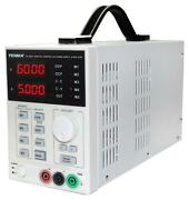 Power Supply, 0-60v, 5a, Programmable, Manufacturer Warranty 1 Year, N For Tenma