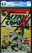 Action Comics 86 [1945] Certified 6.5 A Very Scarce Superman Ww Ii Cover