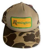 Remington Vintage Thinsulate Thermal Camo Hat Nwt
