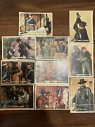 1958 Topps Non Sports Trading Cards 10 Card Lot Zorro- Poor-ex Condition