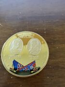 American Mint - Our Heroes And Our Flags Series - Grant And Lee 141d