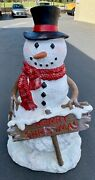 Snowman Large Outdoor Decoration Holiday