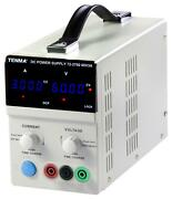 Power Supply, 0-60v, 3a, 1ch, Manufacturer Warranty 1 Year, No. Of Out For Tenma