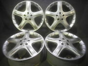 Genuine Mercedes Benz R Class 19 Used Silver Wheel 8j Pcd112 Off+67 Set Of 4