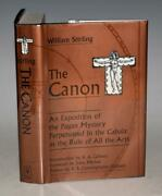 Stirling The Canon Exposition Pagan Mystery Perpetuated In The Cabala 1st Ltd Dw