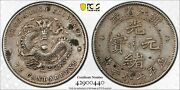 1898-99 10 Cents Chekiang Province China/chinese Coin Landm 285 Pcgs Xf Details