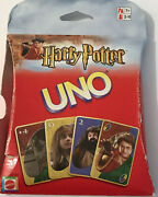 Harry Potter Uno Card Game Mattel 2 Sealed Decks Instructions 2002 Family Game