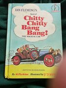 Chitty Chitty Bang Bang Vintage 1968 Edition, Blue/red, Some Smudges, No Damage