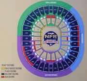 4 2021 Nfr Wrangler National Finals Rodeo Lower Balcony Tickets Tuesday Dec 7