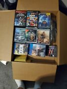 Random Ps Games Lot Box Filled With Ps4, Ps3, And Rare Ps2 Games Worth 750