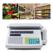30kg 66lbs Digital Weight Scale Price Computing Retail Count Scale Andprinter 110v