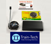 Train-tech Sfx10 Steam Sound Capsule - Coaling Gear And Whistle Sounds