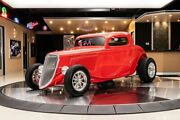 1933 Ford 3-window Coupe Street Rod 3-window Hot Rod Gm 396ci V8 Th350 Automatic Currie 9in 4w Disc Pw