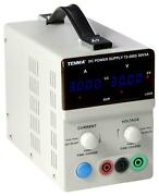 Power Supply, 0-30v, 3a, 1ch, Manufacturer Warranty 1 Year, No. Of Out For Tenma